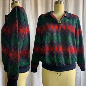 Vintage Alfred Dunner Argyle Sweater